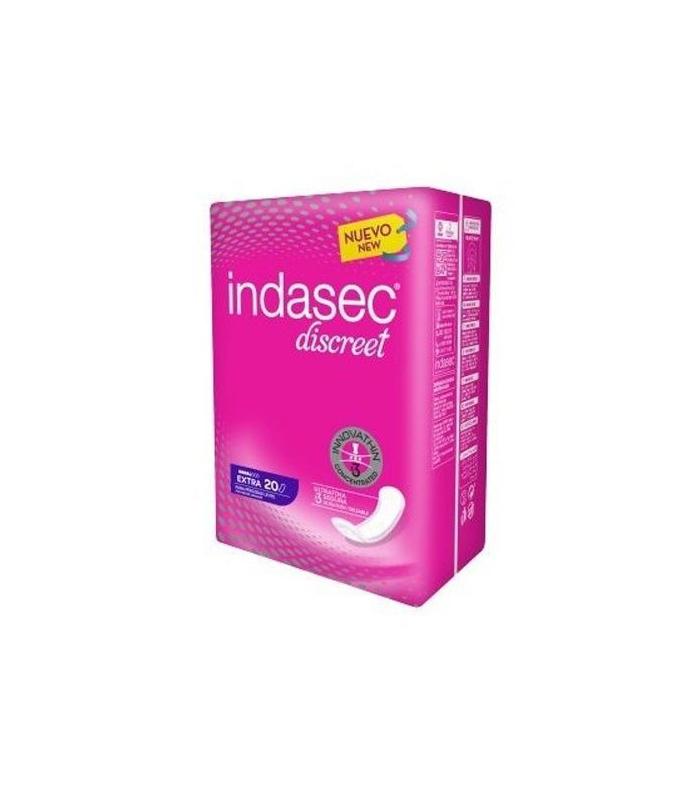Indasec Discreet Extra Talla Grande 20 Unidades