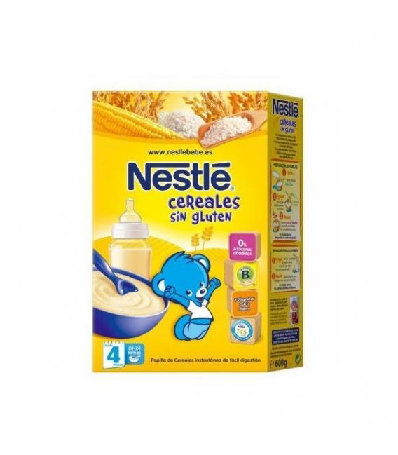 PAPILLAS - Nestle Cereales Sin Gluten 600 Gramos -