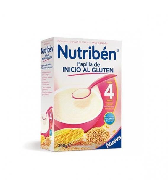 PAPILLAS - Nutriben Papilla Inicio Al Gluten 300 Gramos -