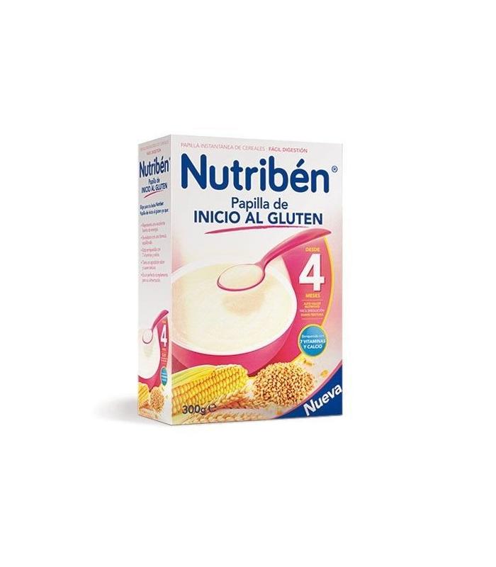 Nutriben Papilla Inicio Al Gluten 300 Gramos