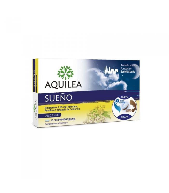 RELAJANTES - Aquilea Sueño 1,95 mg 15 Comprimidos -