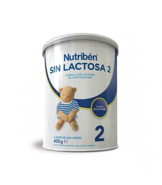 LECHES INFANTILES - Nutriben Leche Sin Lactosa 2 400 Gramos -