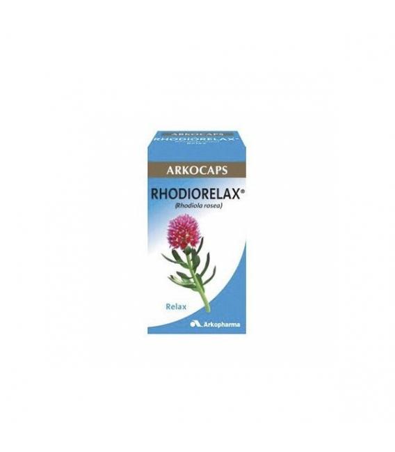 PRODUCTOS DE HERBOLARIO ONLINE - Arkocaps Rhodiorelax 45 Cápsulas -