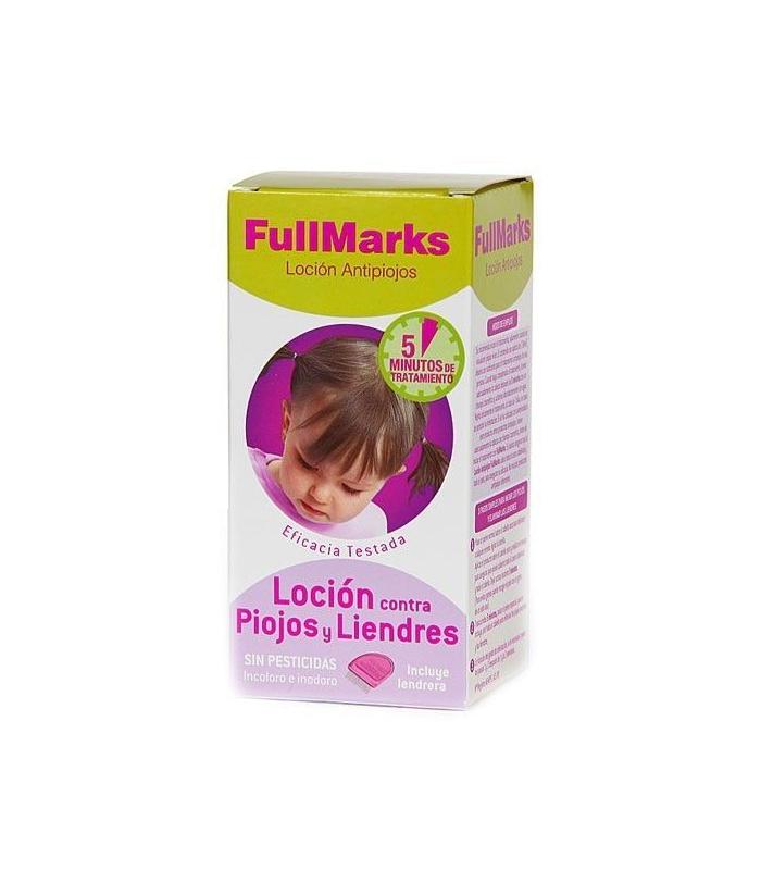 PIOJOS - Fullmarks Loción Contra Piojos Y Liendres 100 ML -