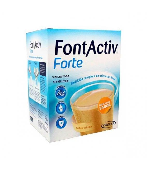 COMPLEMENTOS ALIMENTICIOS - FontActiv Forte Sabor Vainilla 30g 14 Sobres -