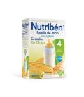 Nutriben Papilla Inicio Biberon Sin Gluten 300 Gramos