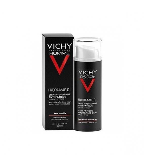HOMBRE - Vichy Homme Mag C+ Hidratante Antifatiga 50 ml -
