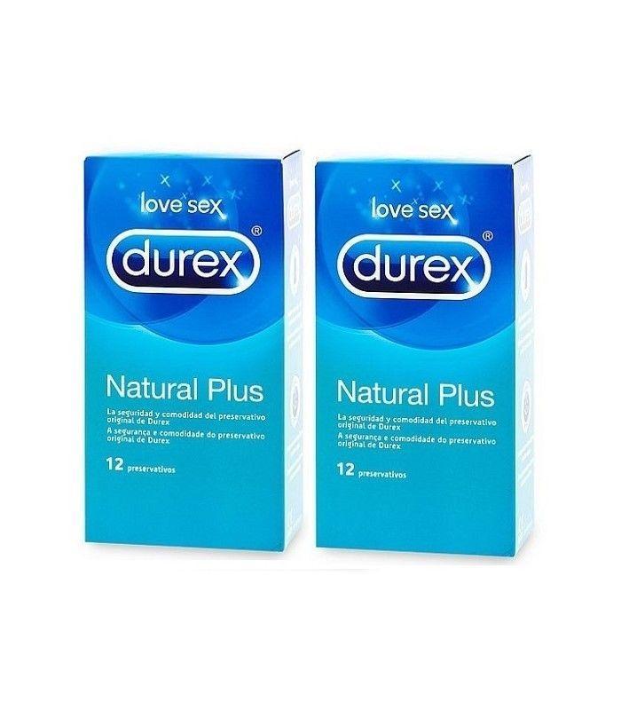 ANTICONCEPTIVOS - Durex Preservativo Duplo Natural Plus 12+12 Unidades -