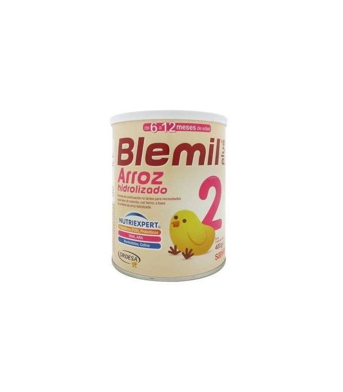 LECHES INFANTILES - BLEMIL PLUS 2 ARROZ HIDROLIZADO 400 GR -