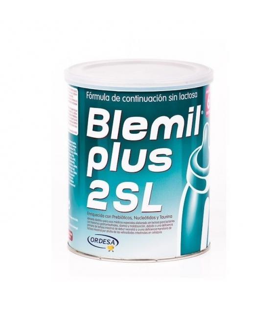LECHES INFANTILES - BLEMIL PLUS 2 SIN LACTOSA 400 GR -