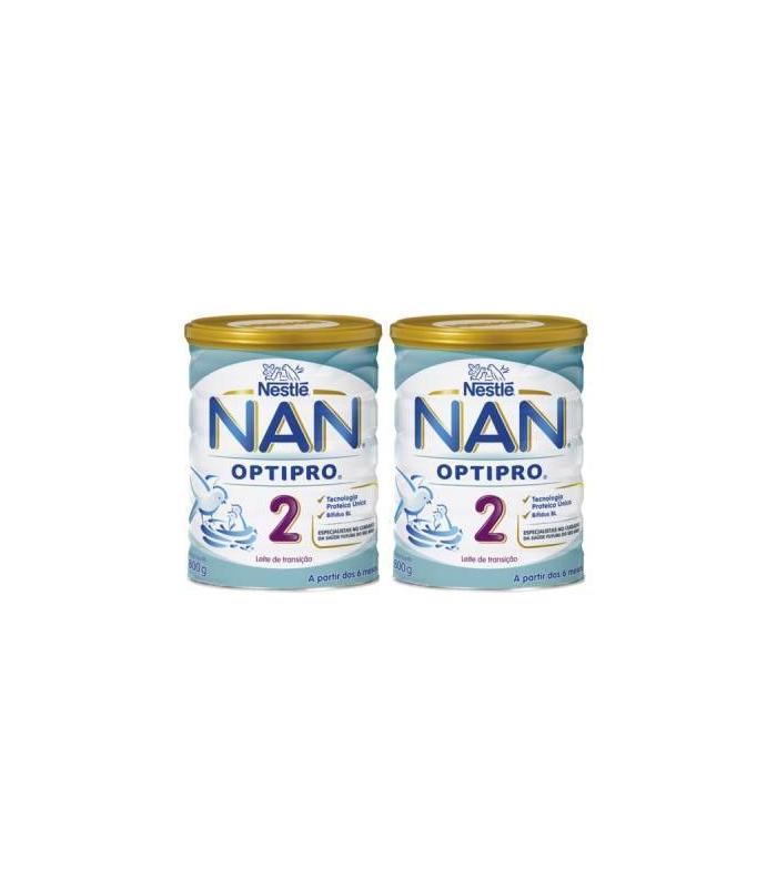 LECHES INFANTILES - DUPLO NESTLE NAN 2 EXPERT LECHE 800 G -