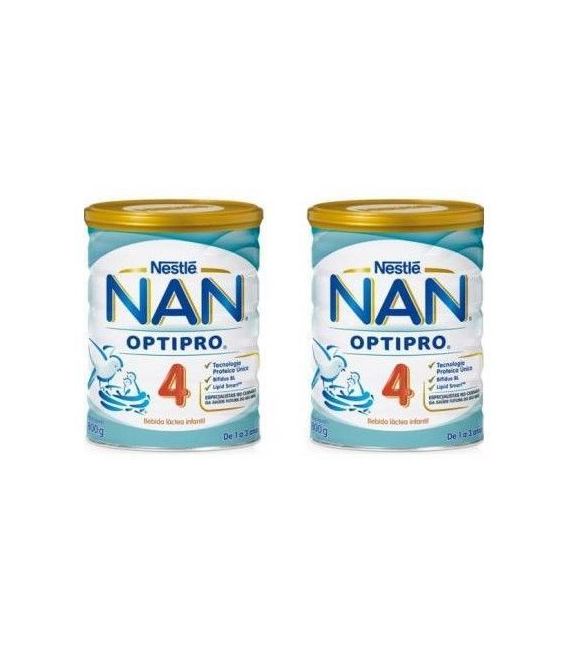 LECHES INFANTILES - DUPLO NESTLE NAN 4 EXPERT LECHE 800 GR -