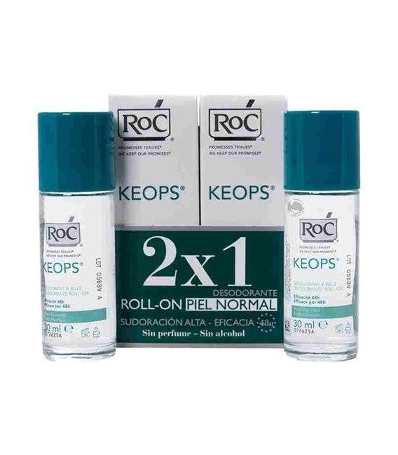 DESODORANTES - ROC DUPLO DESODORANTE KEOPS STICK BARRA (40 ML X 2) -