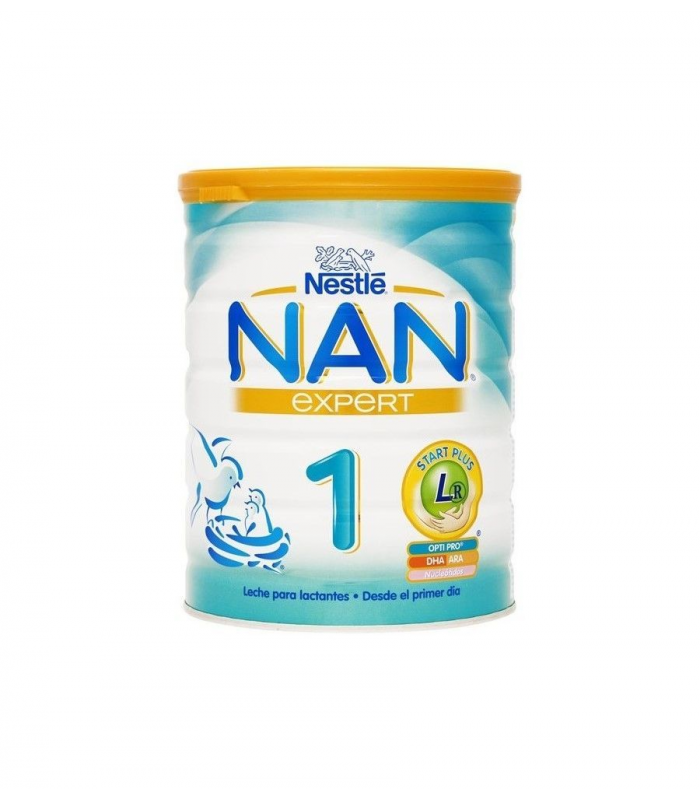LECHES INFANTILES - NESTLE NAN 1 EXPERT LECHE 800 GR -