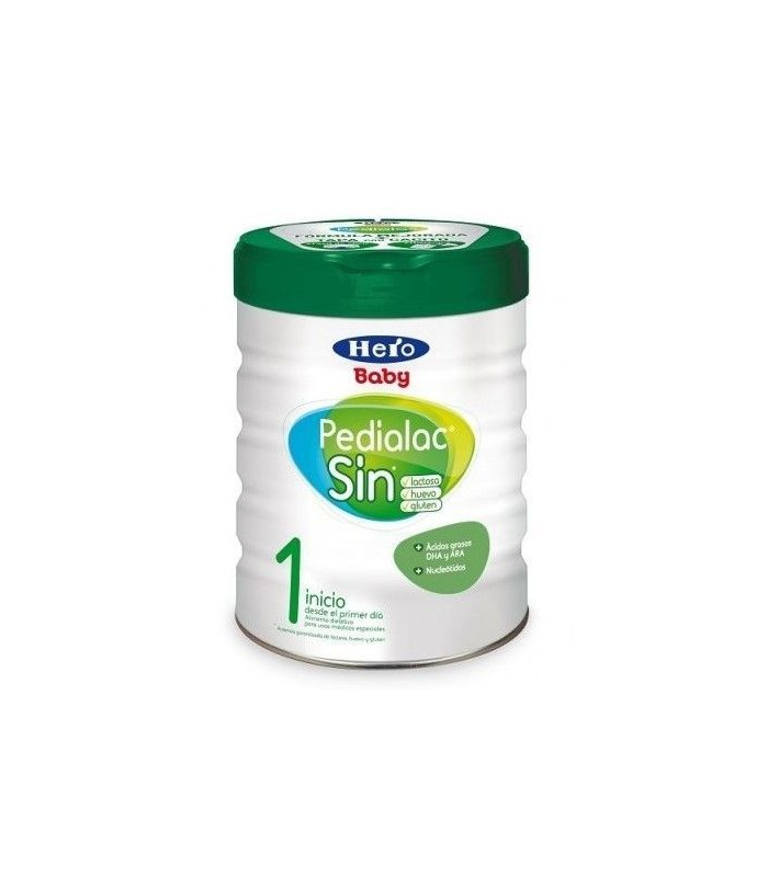 LECHES INFANTILES - HERO BABY LECHE PEDIALAC 1 SIN LACTOSA 800 GR -