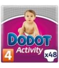 PAÑAL DODOT ACTIVITY T/4 9-15 KG 48 UNIDADES