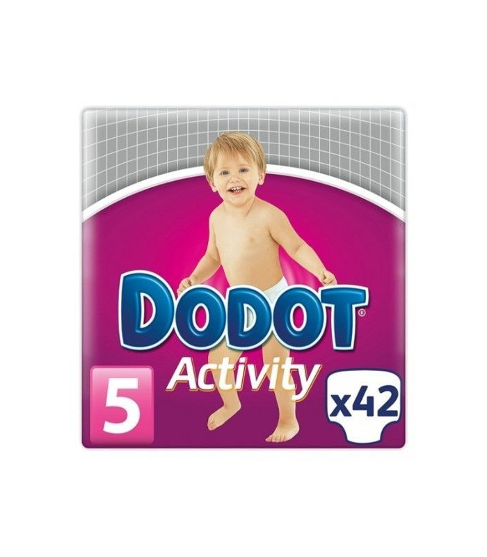 PAÑALES - PAÑAL DODOT ACTIVITY T/5 11-17 KG 42 UNIDADES -