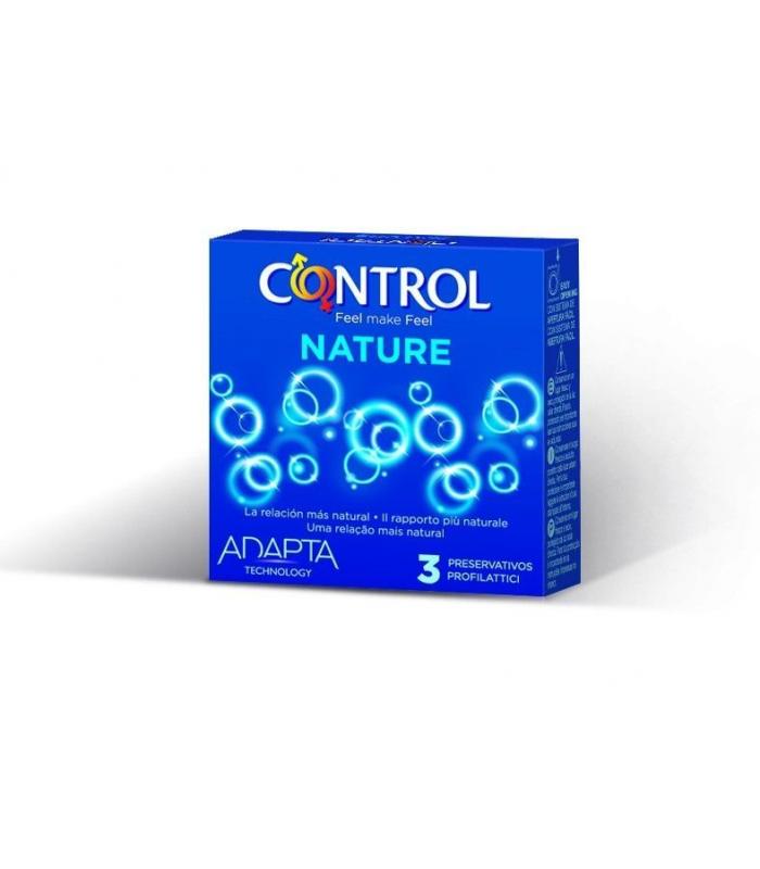 ANTICONCEPTIVOS - PRESERVATIVO CONTROL ADAPTA NATURE 3 UNIDADES -