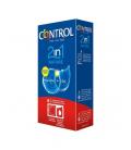 ANTICONCEPTIVOS - CONTROL NATURE 2 EN 1 PRESERVATIVO + LUBRICANTE 6 UNIDADES -