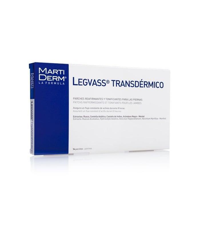 PIERNAS CANSADAS - Martiderm Legvass Transdermico 14 Parches -