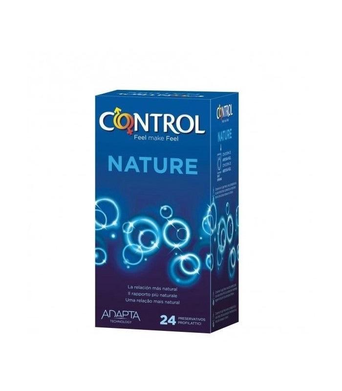 ANTICONCEPTIVOS - Preservativos Control Adapta Nature 24 Unidades -