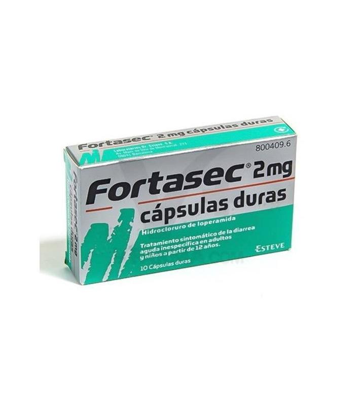 MEDICAMENTOS ONLINE - FORTASEC 2 MG 10 CAPSULAS -
