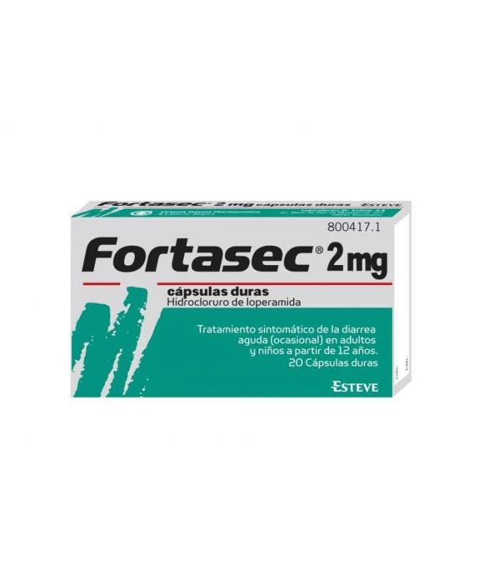 MEDICAMENTOS ONLINE - FORTASEC 2 MG 20 CAPSULAS -