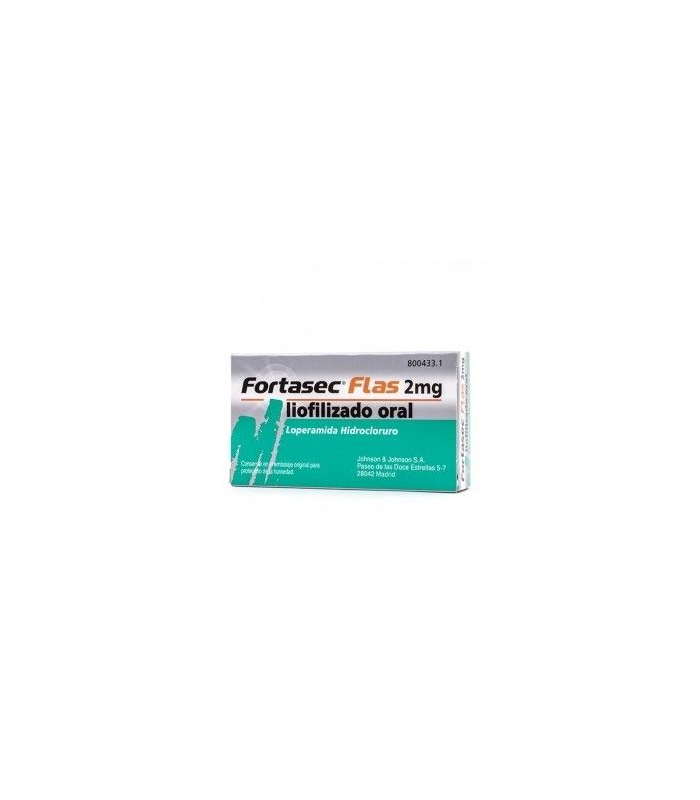 MEDICAMENTOS ONLINE - FORTASEC FLAS 2 MG 12 COMPRIMIDOS -