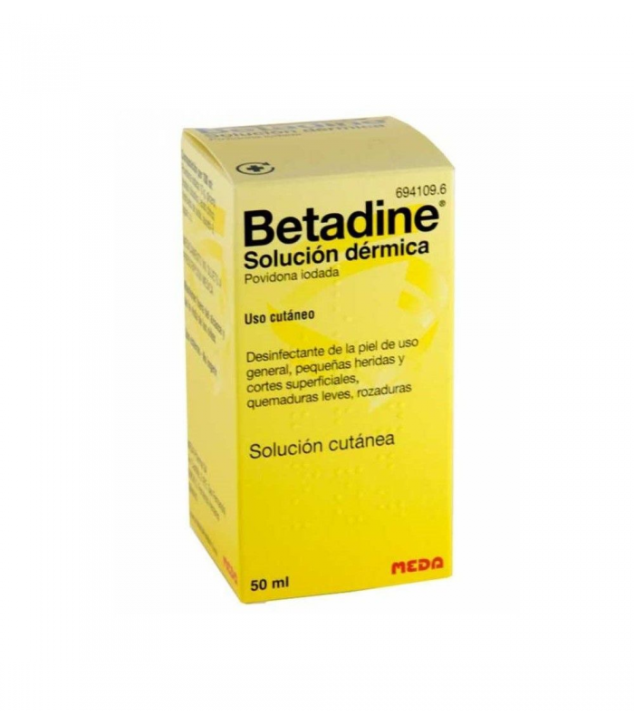 MEDICAMENTOS ONLINE - BETADINE SOLUCION DERMICA 50 ML -