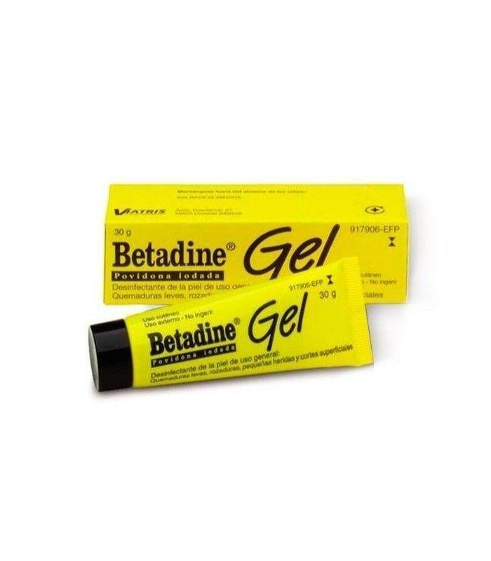 MEDICAMENTOS ONLINE - BETADINE GEL 30 GR -