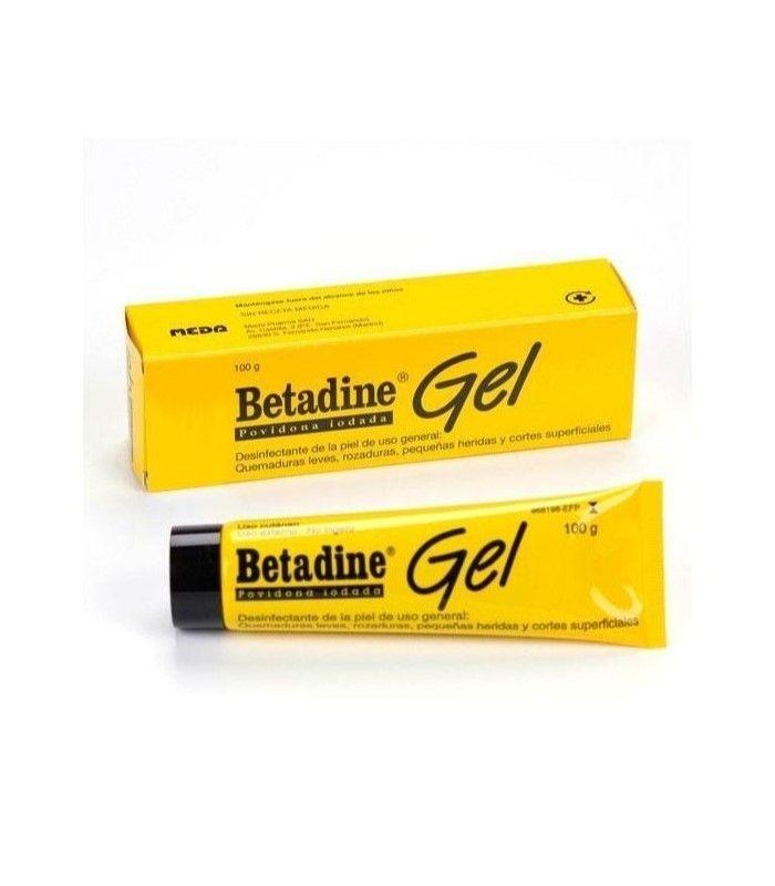 MEDICAMENTOS ONLINE - BETADINE GEL 100 GR -