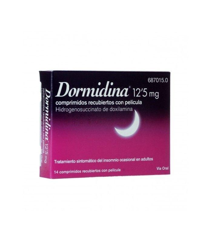 MEDICAMENTOS ONLINE - Dormidina 12,5 MG 14 Comprimidos -