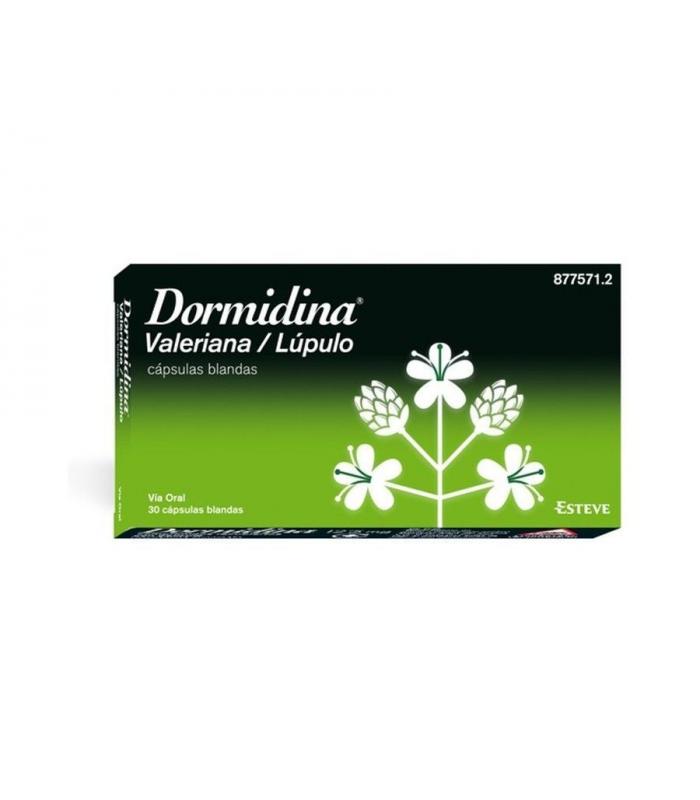 MEDICAMENTOS ONLINE - Dormidina Valeriana Lupulo 30 Capsulas -