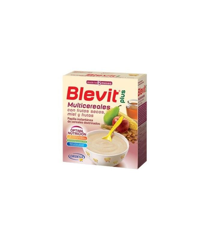 PAPILLAS - Blevit Plus Miel Frutos Secos Y Frutas Multicereales 600 Gramos -