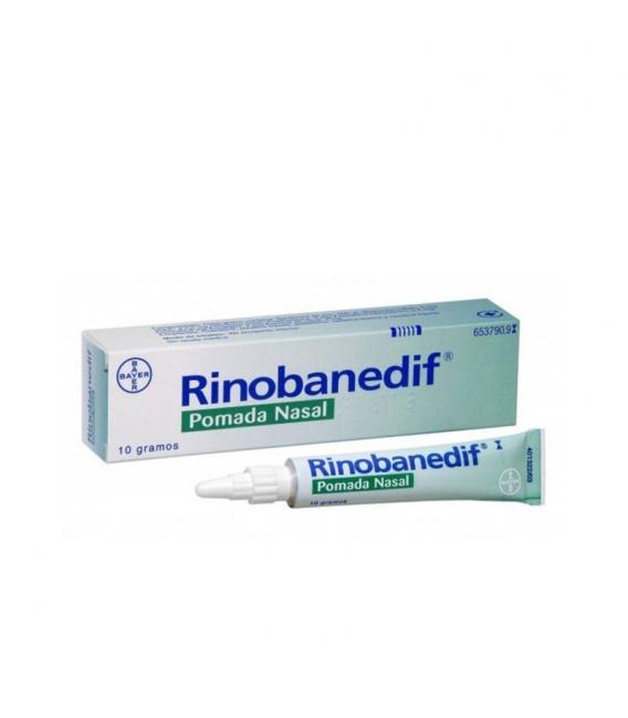 MEDICAMENTOS ONLINE - RINOBANEDIF POMADA NASAL 10 GR -