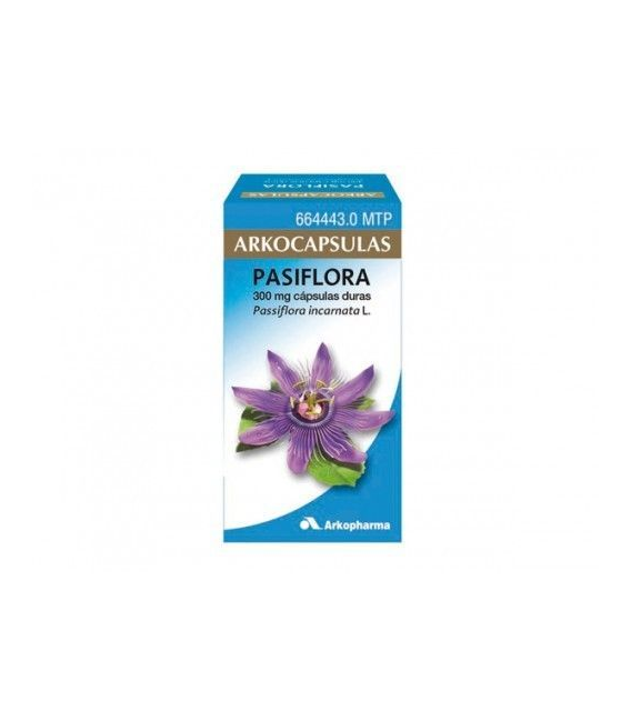 MEDICAMENTOS ONLINE - ARKOCAPSULAS PASIFLORA 300 MG 50 CAPSULAS -