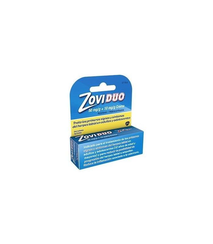 MEDICAMENTOS ONLINE - ZOVIDUO 50/10 MG/G CREMA 1 TUBO 2 GR -