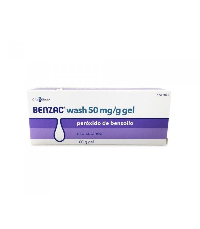 MEDICAMENTOS ONLINE - BENZAC WASH 50 MG/G GEL TOPICO 100 GR -