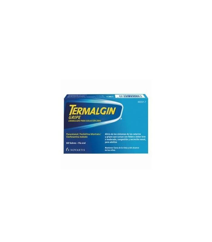 MEDICAMENTOS ONLINE - TERMALGIN GRIPE 10 SOBRES -