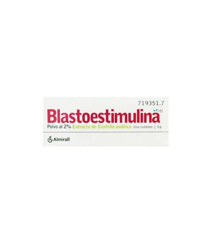 MEDICAMENTOS ONLINE - BLASTOESTIMULINA 20 MG/G POLVO TOPICO 5 GR -