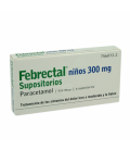 MEDICAMENTOS ONLINE - FEBRECTAL INFANTIL 300 MG 6 SUPOSITORIOS -