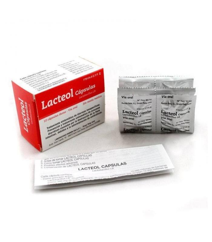 MEDICAMENTOS ONLINE - LACTEOL 10 CAPSULAS -