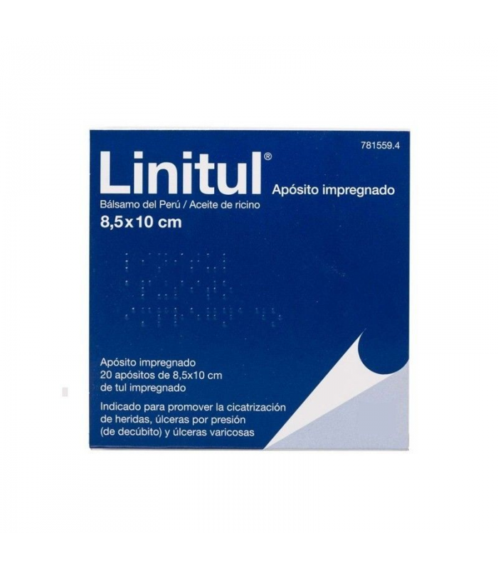 MEDICAMENTOS ONLINE - LINITUL 20 APOSITOS 8.5 X 10 CM -