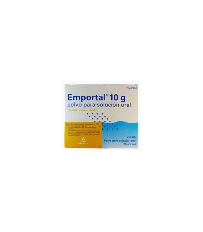 MEDICAMENTOS ONLINE - EMPORTAL 10 G 50 SOBRES POLVO SOLUCION ORAL -