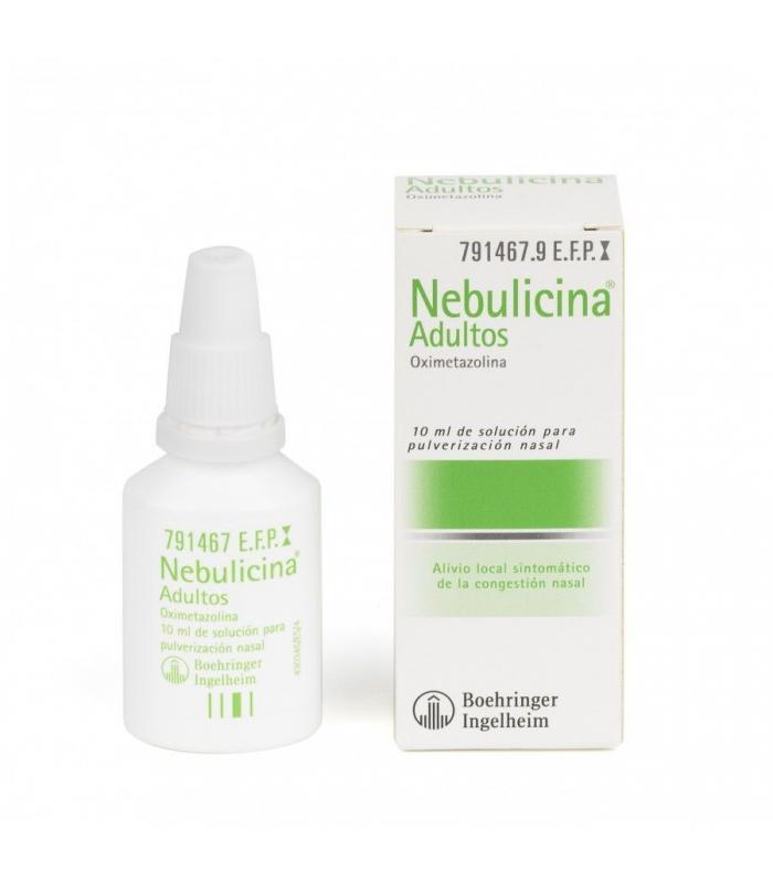 MEDICAMENTOS ONLINE - NEBULICINA 0.5 MG/ML NEBULIZADOR NASAL 10 ML -