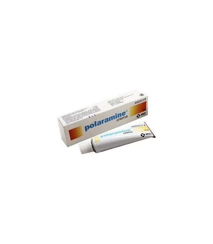 MEDICAMENTOS ONLINE - POLARAMINE TOPICO CREMA 20 GR -