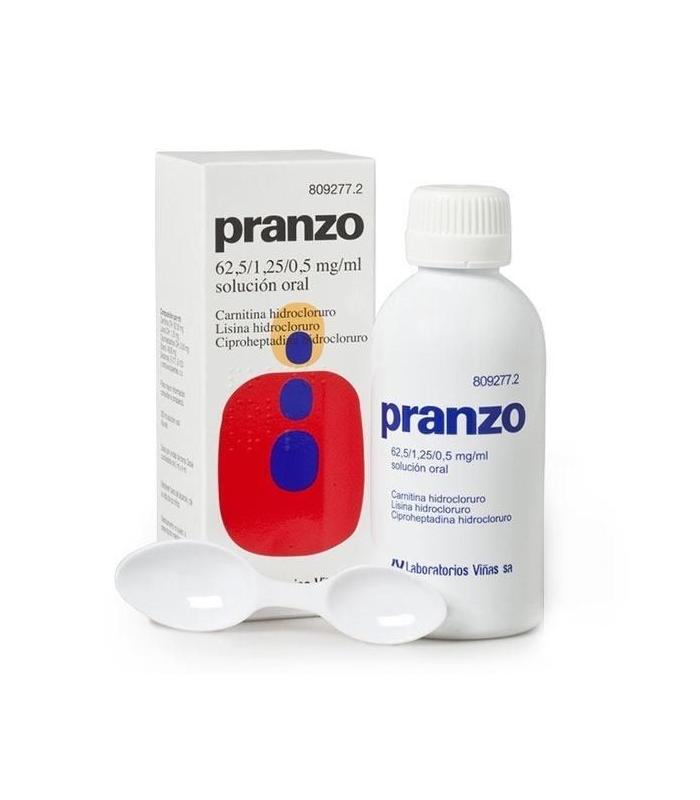 MEDICAMENTOS ONLINE - PRANZO SOLUCION ORAL 200 ML -