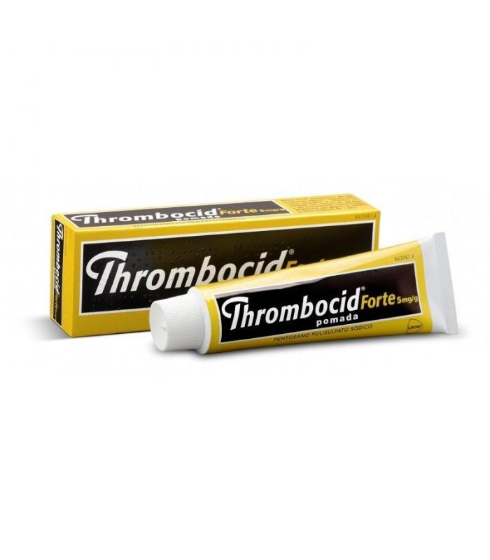 MEDICAMENTOS ONLINE - THROMBOCID FORTE 5 MG/G POMADA 1 TUBO 60 GR -