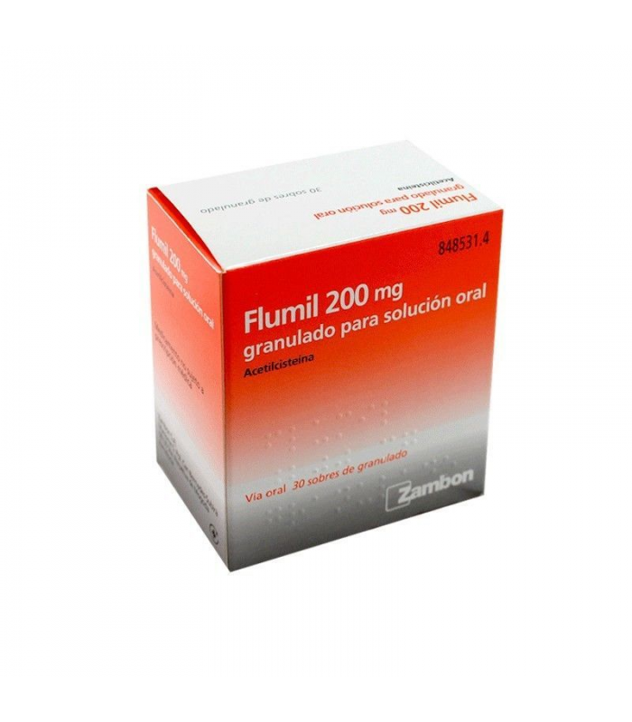 MEDICAMENTOS ONLINE - FLUIMUCIL 200 MG 30 SOBRES GRANULADO -