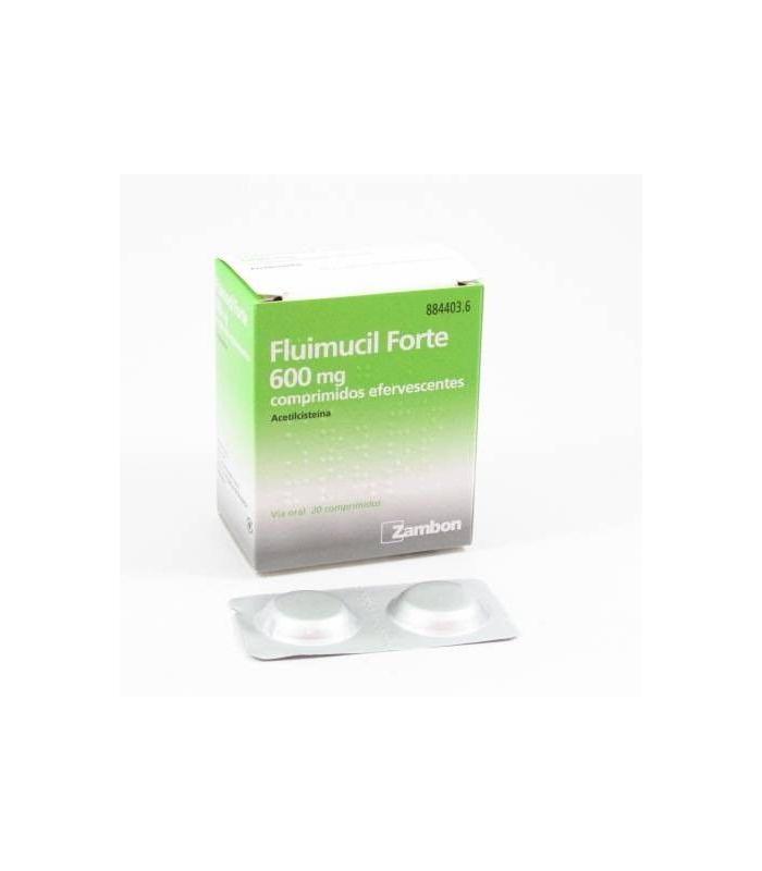 MEDICAMENTOS ONLINE - FLUIMUCIL FORTE 600 MG 20 COMPRIMIDOS EFERVESCENTES -
